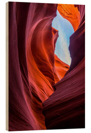 Andreas Wonisch - Sandstone Formations at Lower Antelope Canyon