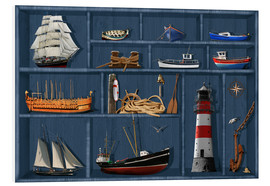 Monika Jüngling - The maritime case cabinet