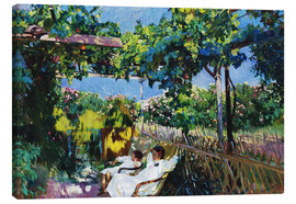 Canvas print  Siesta in the Garden - Joaquin Sorolla y Bastida
