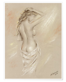 Poster Sexy curves -  Female Nude