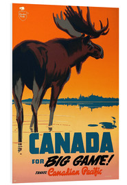 Foam board print  Canada travel for big game - Travel Collection