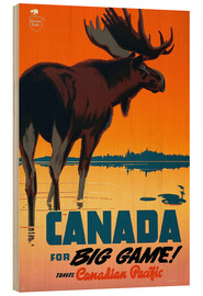 Wood  Canada travel for big game
