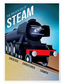 Premium poster  Flying Scotsman - Advertising Collection