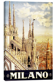Canvas print  Milano - Travel Collection