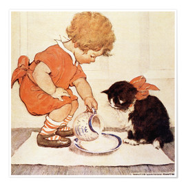 Premium poster  A Little Childs Book of Stories 2 - Jessie Willcox Smith