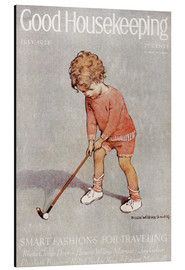 Aluminium print  golf art jessie - Jessie Willcox Smith