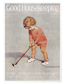 Premium poster  golf art jessie - Jessie Willcox Smith