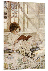 Acrylic glass  Picture Books in Winter - Jessie Willcox Smith