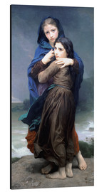 Aluminium print  The Storm - William Adolphe Bouguereau