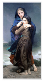 Premium poster  The Storm - William Adolphe Bouguereau