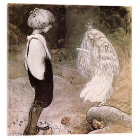 Acrylic print  The seven wishes - John Bauer