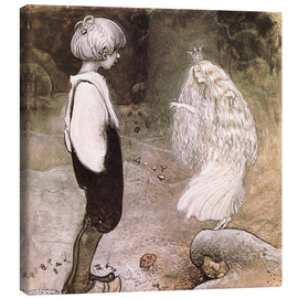 Canvas print  The seven wishes - John Bauer