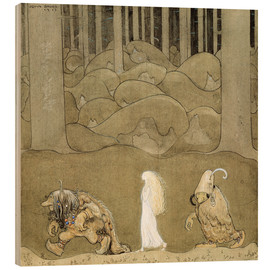 Wood  The Princess and the Trolls - John Bauer