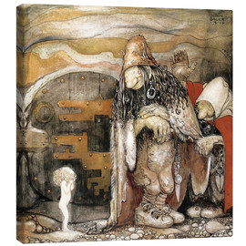 Canvas print  The changeling - John Bauer