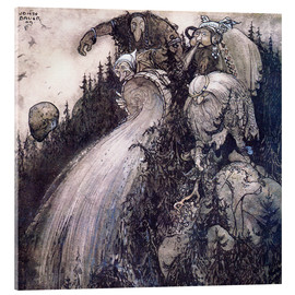 Acrylic print  Troll of the forest - John Bauer