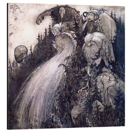 Aluminium print  Troll of the forest - John Bauer