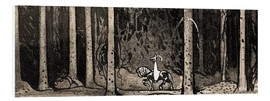 Foam board print  Mr. Fabian - John Bauer