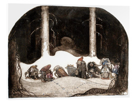 Acrylic print  In the christmas night - John Bauer