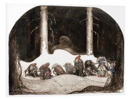 John Bauer - In the christmas night