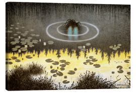 Canvas  An ordinary nix or something - Theodor Kittelsen
