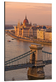 Alu-Dibond  Budapest late afternoon - Fine Art Images