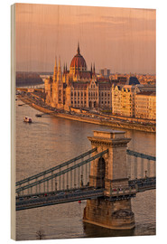 Wood  Budapest late afternoon - Fine Art Images
