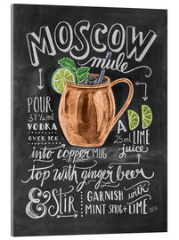 Acrylic glass  Moscow mule - Lily & Val