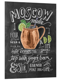 Foam board print  Moscow Mule - Lily & Val
