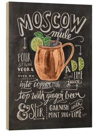 Wood  Moscow mule - Lily & Val