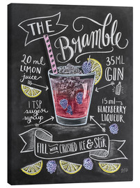 Canvas print  Bramble cocktail - Lily & Val