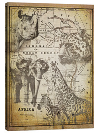 Canvas print  The Spirit of Africa - Andrea Haase