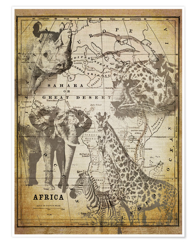 Premium poster The Spirit of Africa