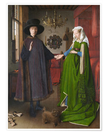 Poster  Arnolfini Wedding - Jan van Eyck