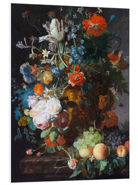 Forex  Still Life with Flowers and Fruit - Jan van Huysum
