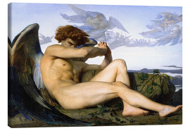 Canvas  Fallen angel - Alexandre Cabanel