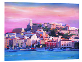 Acrylic print  Ibiza Old Town and Harbour - Pearl Of the Mediterranean Sea - M. Bleichner