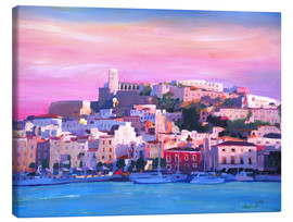 Canvas print  Ibiza Old Town and Harbour - Pearl Of the Mediterranean Sea - M. Bleichner