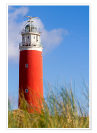 Poster  Lighthouse on Texel - Anna Reinert