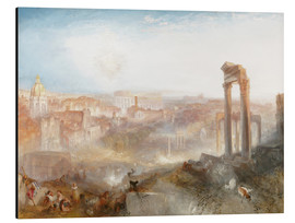 Aluminium print  Modern Rome - Joseph Mallord William Turner