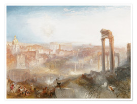 Joseph Mallord William Turner - Modern Rome