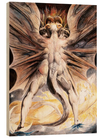 Wood  Clothed The Great Red Dragon and the Woman with the Sun - William Blake