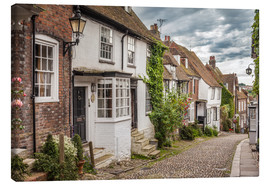 Canvas  Mermaid Street in Rye, East Sussex (England) - Christian Müringer