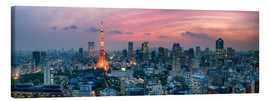 Canvas  Tokio Skyline - Jan Christopher Becke