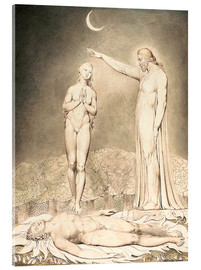 Acrylic print  the creation of eve - William Blake