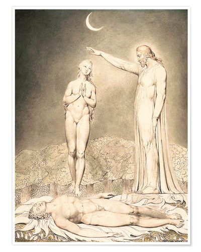 Premium poster the creation of eve