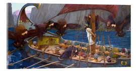 Acrylic print  Odysseus and the Sirens - John William Waterhouse