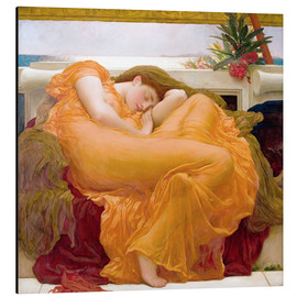 Aluminium print  Flaming June - Frederic Leighton