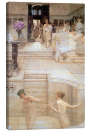 Canvas print  A Favourite Custom - Lawrence Alma-Tadema
