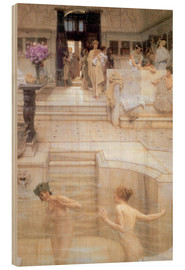 Wood  A Favourite Custom - Lawrence Alma-Tadema