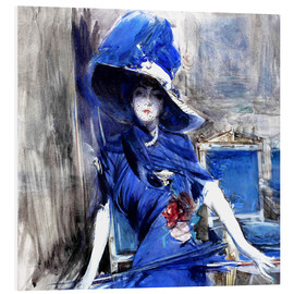 Forex  Diva in blue - Giovanni Boldini